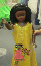 NEW BSD569 Girls All Sequin Princess Of Color Crowning Dress Fuchsia, Yellow 4T