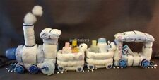 Diaper Cake Train Baby Shower Gift Centerpiece