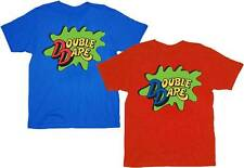 NEW Double Dare Logo Red/Blue Costume T-shirt Tee