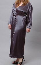 PLUS SIZE  LINGERIE LONG ROBE ONE SIZE Q/S 1X 2X 3X