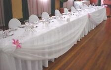 ORGANZA FABRIC 150/300CMS WIDTH IN 40 COLOURS FREE P&P