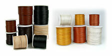 PICK ANY 1! * ROUND LEATHER CORD 27+ YARDS SPOOLS ROLLS