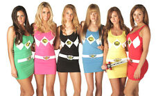 Juniors The Power Rangers Sexy Costume Tank Dresses