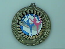 """2-3/4"""" SUN Dance Medal w/Ribbon Any Qty Ships Flat Rate $5.49 in USA"""