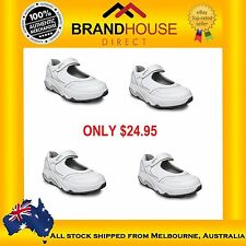 DUNLOP TST MARY JANE LADIES SHOES / RUNNERS / SNEAKERS WHITE AUS SIZE 6,7,8,9,10