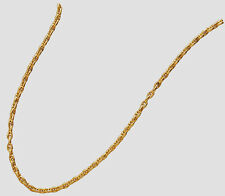 GAT Hawaiian Nautical Jewelry Gold Shackle Clasp Anchor Chain Necklace