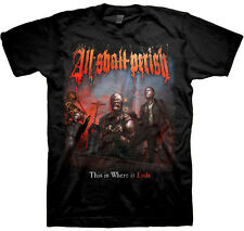 ALL SHALL PERISH - Album Cover - T SHIRT S-M-L-XL Brand New - Official T Shirt