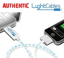 EL Illuminated USB Charging Cable for Apple iPhone iPod iPads Like Dexim Sockitz