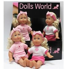 Dolls World LITTLE JESSICA 12 inch Soft Bodied Doll   New