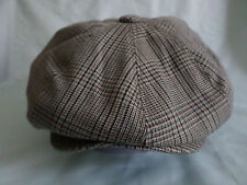 GENTS CHECHED 1920,S RETRO VICTORIAN EDWARDIAN NEWSBOY BAKERBOY HATS