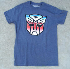 Transformers Autobots Blue Tee Shirt Men's Sizes NEW 100% Cotton