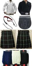 Great Gift: Mens Package 5 Yard Kilt Shirt Hose Sporran Belt MacKenzie