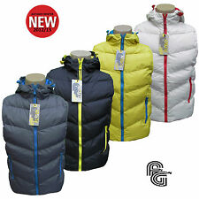 FLY GUY TORRANCE MENS HOODED PADDED BUBBLE GILET JACKET AUTUMN WINTER 2012/