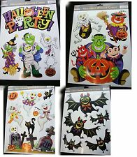 Halloween Window cling stickers Halloween Prismatic Window Stickers Decorations