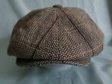 MENS RETRO 1920'S 1930'S STYLE HAT GREY BAKERBOY CAP NEWSBOY PAPERBOY HAT