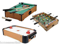 Mini Table Top Football Air Hockey Pool Games For Kids Christmas Present