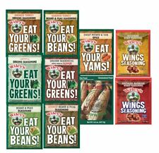Wiley's Seasonings & Spices:Greens Seasoning,Yam Spice,Corn Boil,Beans Seasoning
