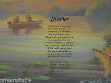 PERSONALIZED BROTHER POEM - PERFECT FOR THAT SPECIAL BROTHER IN YOUR LIFE!