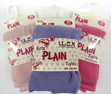 Girls Plain Tights