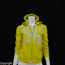 Aeropostale Women Hoodies - Stacked 87 Bright Green NWT