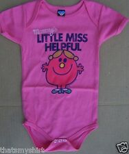 New Junk Food Mommy's Little Miss Helpful Infant Snapsuit