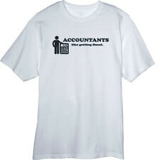 Accountants Like Getting Fiscal Funny Novelty T Shirt