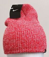 NIKE WMNS HEADWEAR HEATHER KNIT BEANIE Sunburst/White -507593 610-
