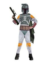 Boys Child Licensed STAR WARS Boba Fett Costume Outfit