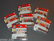 NEW 2013 One Direction 1D i-SNAPS Charm Bracelet Band - Similar To Crocs Jibbits