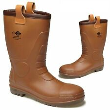 MENS DICKIES GROUNDWATER RIGGER BOOTS SAFETY SHOES STEEL TOE CAP WORK BOOTS