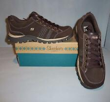 Skechers Women's Grand Jams Replenish Leather Shoes Brown SIZES! NIB NEW