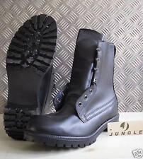 Genuine British Army. Black Leather Combat / Assault Boots - All sizes - NEW