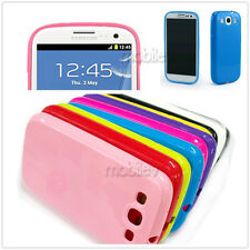 Lot TPU Silicone Phone Case Soft Crystal Skin Cover for Samsung Galaxy S3 i9300