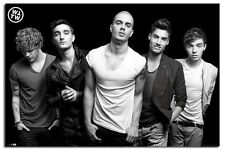 The Wanted Black & White Large Wall Poster New - Laminated Available