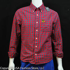 Abercrombie & Fitch Men's Shirt Ouluska Pass Red NWT