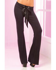 PINK LIPSTICK LOUNGE WEAR STRETCH LOUNGE PANT WITH RUCHED BACK  Sizes S-L