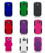 For Huawei Ascend Y M866 Apex Case Hybrid Soft Mesh Cover Accessory