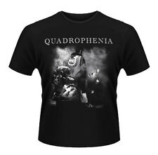 Official T Shirt THE WHO Black QUADROPHENIA Smoke Logo All Sizes