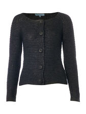 Dickins & Jones Grey Chunky Knit Cardigan RRP £85 House of Fraser - Free UK Ship