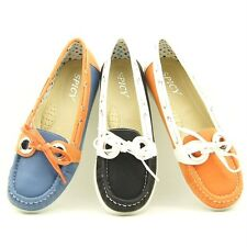 Moc Toe Women's Boat Shoes, Flats, Slip-on Shoes  5-10US/35.5-41EU/3-8AU