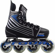 Roller Hockey Skates - Tour Thor ZT 800 Adjustable Street Hockey Skate SM / Med.
