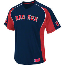 Boston Red Sox BOYS YOUTH Size 6/8 Majestic Pullover Baseball Jersey