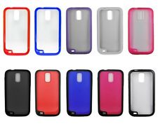 For Samsung Galaxy S2 Hercules T989 Cover Softgrip Bumper Hybrid Cell Accessory