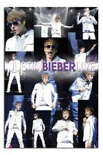Justin Bieber Live Montage Large Maxi Wall Poster New - Laminated Available