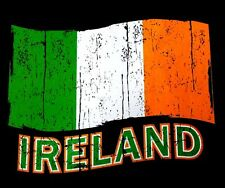 NATIONAL FLAG OF IRELAND THE IRISH TRICOLOUR PATRIOTIC PRIDE FLAG T-SHIRT XT94