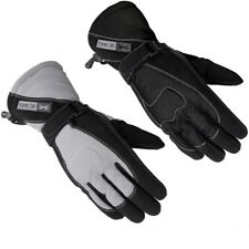 SPADA STREET LADIES WOMENS LEATHER TEXTILE WATERPROOF THERMAL MOTORCYCLE GLOVES