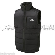 THE NORTH FACE MENS THERMAL VEST GILET BLACK SIZE S M L XL XXL BODYWARMER SUMMER