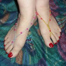 Barefoot Sandals Foot Thongs Variety of Colors ~ Custom Made