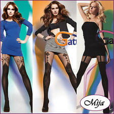 Sexy mock suspender stockings tights hold-ups Gatta  2 /S 3/M 4/L