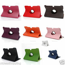 New Leather 360° Rotating Stand Case Cover For Samsung Galaxy Note 10.1'' N8000